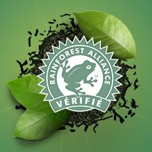 Vérifié Rainforest Alliance