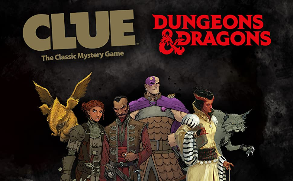 Clue Dungeons & Dragons game