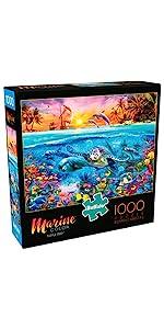 Marine Color - Turtle Reef