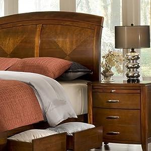 Amazon.com: Modus muebles Brighton dos cajones Mesita de ...