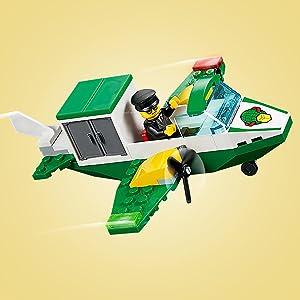 LEGO Juniors 4+ City - Gran Aeropuerto de la Ciudad, Juguete de ...