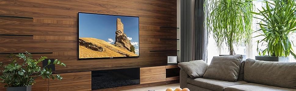 telefunken d43u297x4cw 110 cm 43 zoll fernseher 4k. Black Bedroom Furniture Sets. Home Design Ideas