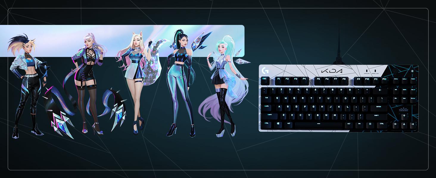 G Pro KDA Keyboard