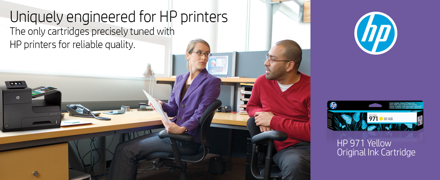 970 971 color tri-color black xl combo pack hp ink cartridges cartridge printer Hewlett Packard