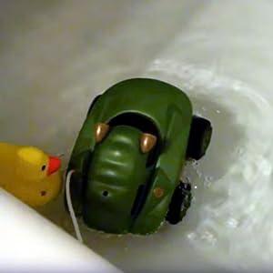 amphibious rc car amphibian remote control car toddler kid bathtub toy