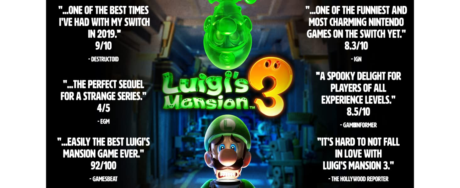 Luigi's Mansion 3 Accolades