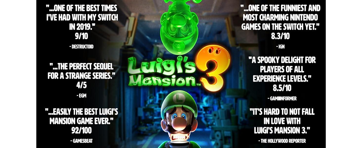 Luigi's Mansion 3 Accolades