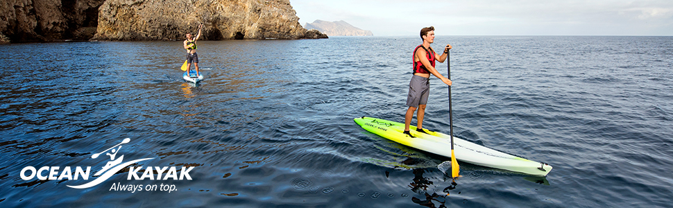 Stand Up Paddleboards >> Amazon Com Ocean Kayak Nalu 12 5 Hybrid Stand Up Paddleboard