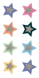 Home Sweet Classroom Star Mini Stickers