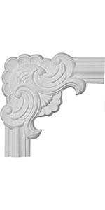 panel moulding corner