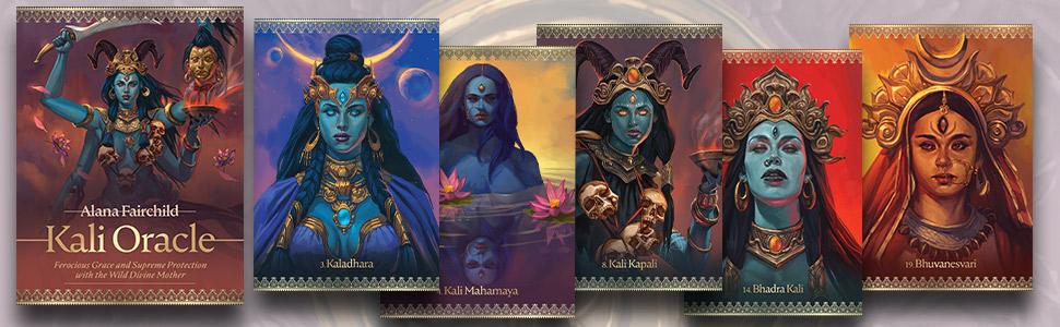 kali oracle, kali, goddess kali, kali oracle cards, alana fairchild, goddess oracle, goddess oracle