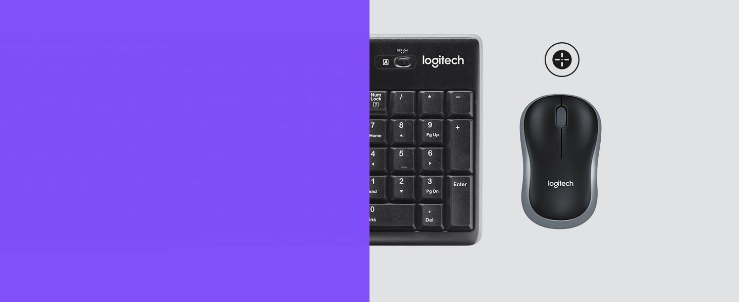Logitech MK270 Combo Teclado y Ratón inalámbrico para Windows ...