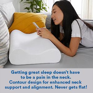 bed pillows; cooling pillow; side sleeper pillow