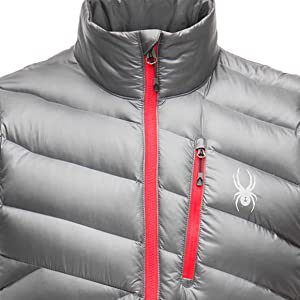 Amazon.com: Spyder Syrround Down chaleco impermeable con ...