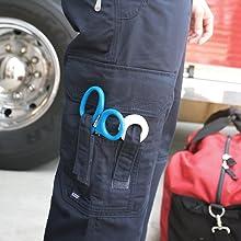 scissor scissors pocket pockets cargo pant jeans work duty on the