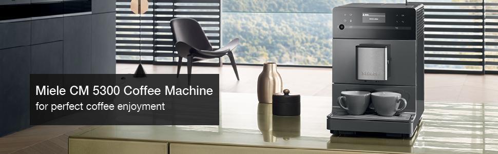Miele CM 5300 Coffee Machine, Grey