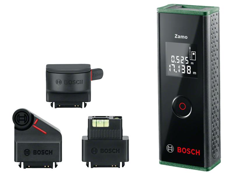 Bosch Entfernungsmesser Bedienungsanleitung : Bosch laser entfernungsmesser zamo set generation messbereich