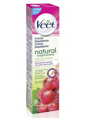 Veet Crema depilatoria - Natural Inspirations, 200ml