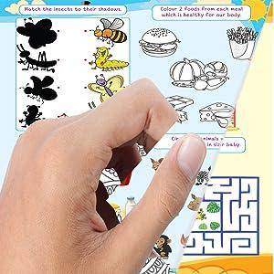 paper quality, 505 activities, kids activities