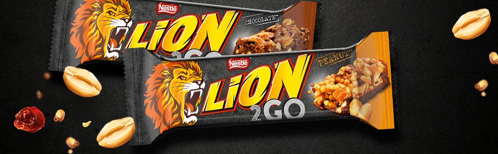 Lion 2 Go Chocolate and Peanut