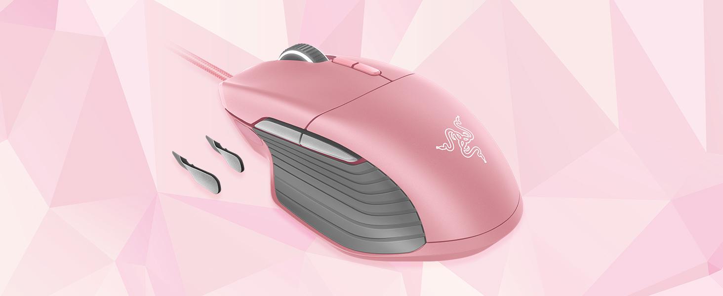 Resultado de imagen de razer basilisk pink
