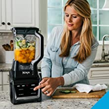 Ninja Blender, Ninja CT682, Ninja Intelli-sense kitchen system, Auto IQ, total crushing pitcher