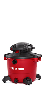 craftsman 16 gallon wet dry vacuum with detachable blower