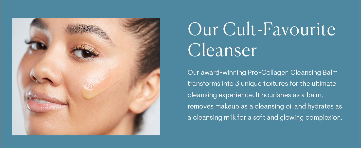 Pro-Collagen Cleansing Balm - Cult Favourite Cleanser