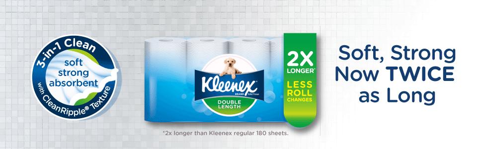 kleenex, toilet tissue, toilet paper, kleenex toilet tissue, tissues, double toilet roll