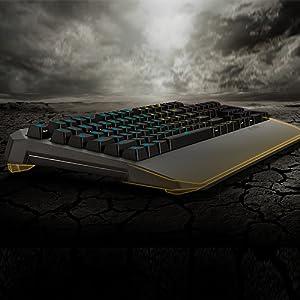 Asus TUF Gaming K5 - Tecládo Mech-Brane, Anti-ghosting, RGB ...
