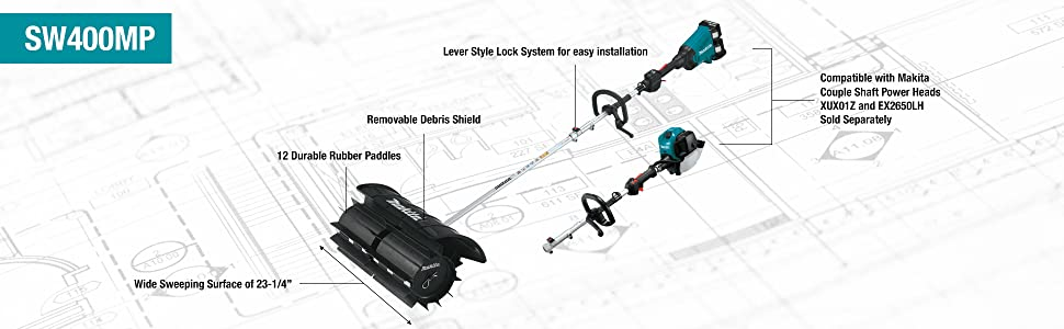 Amazon.com: Makita SW400MP - Acoplamiento para pala de ...
