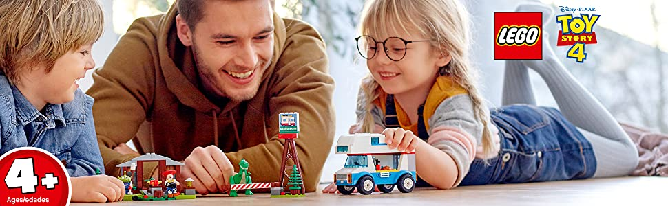 LEGO 4+ Toy Story 4 RV Vacation