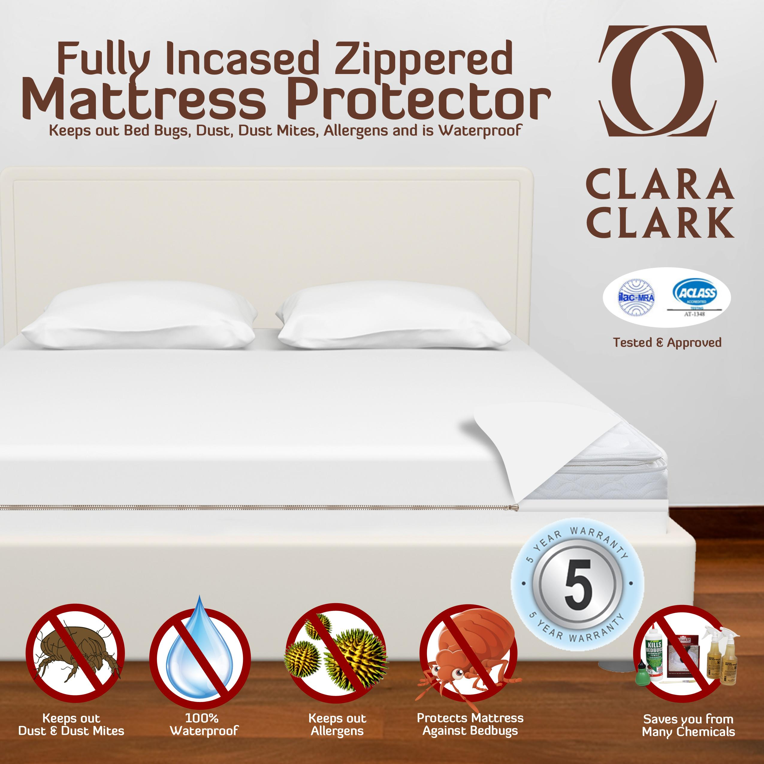 Amazon Com Clara Clark Queen Size Hypoallergenic Water