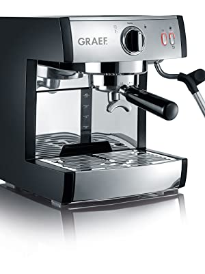 Graef Pivalla Cafetera espresso, 230 W, 2.5 litros, Acero ...