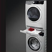 AEG Waschmaschine Trockner Zwischenbaurahmen Ablage