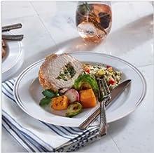 Mozaik, Mosaic, Appetizer, Serverware, Plastic dishes, reusable, disposable, Dessert plate