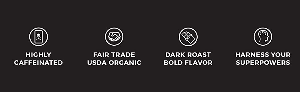 Death Wish Coffee Icons