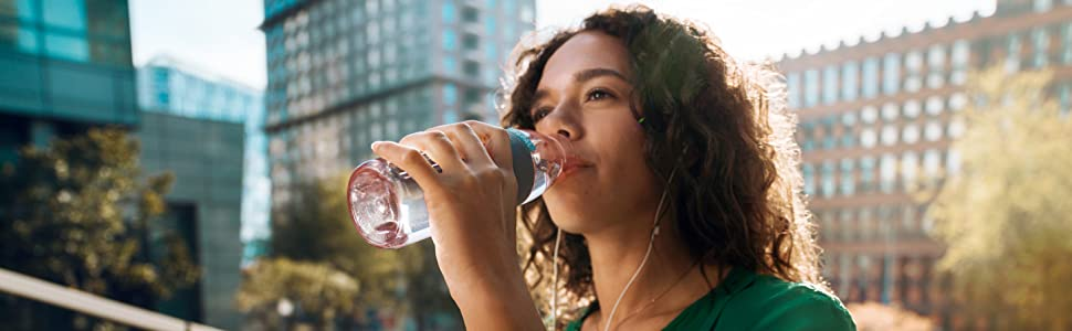 Mepal Ellipse drinkfles 500 ml waterfles voor koolzuurhoudende dranken