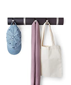 Umbra Flip Wall Mounted Floating Coat Rack