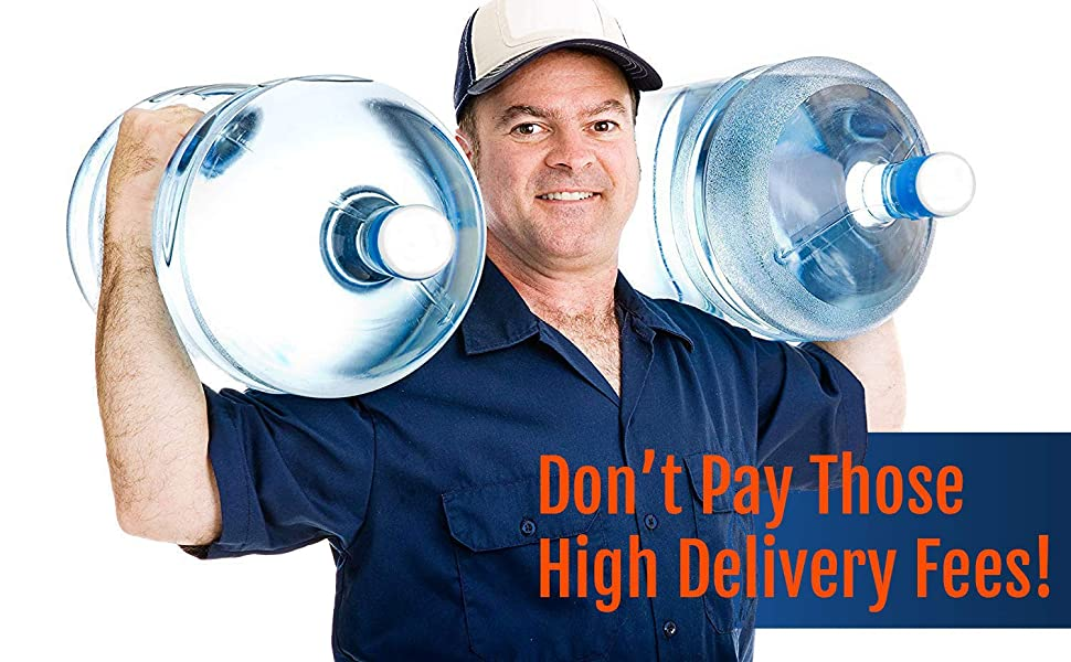 5 Gallon Water Delivery Man