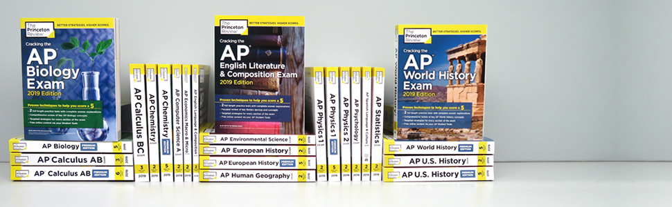 Amazon com: Cracking the AP Statistics Exam, 2019 Edition