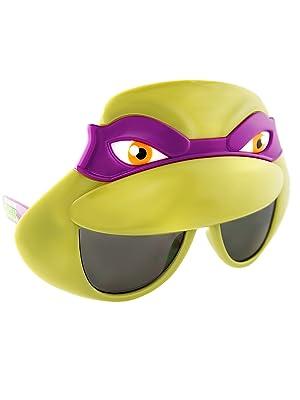 Amazon.com: sun-staches – TMNT Donatello anteojos, talla ...