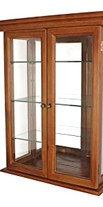 country tuscan curio cabinet, home furnishings, display cabinet, curio cabinet, curio cabinets