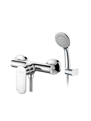 GRIFEMA Berlin - Grifo monomando ducha con alcachofa, manguera y ...