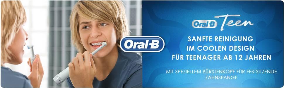 Oral B Teen Elektrische Zahnbürste Für Teenager Ab 12 Jahren Mit