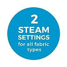 2 steam settings