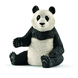 panda, panda figurine, schleich panda, schleich animals, schleich figurine, animal figurine, toy