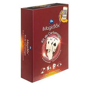 iMagicBox-41197 Caja con Diferentes Juegos de Magia, con Acceso aa, Color Negro, Sin Sin Talla (Cife Spain 41197