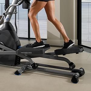 Nautilus, Natilus, Nautlis, Elliptical, Trainer, Training, workouts, length, stride, E614, home