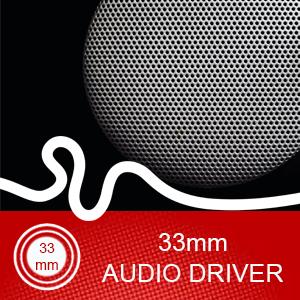 33mm Audio Driver